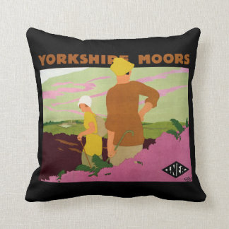 Yorkshire Moors Pillow