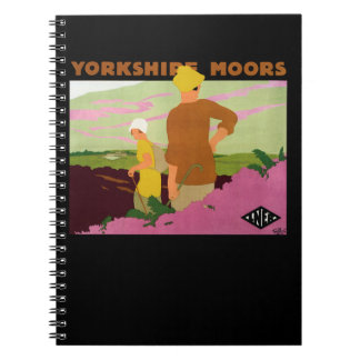 Yorkshire Moors Spiral Notebook