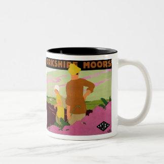 Yorkshire Moors Two-Tone Coffee Mug