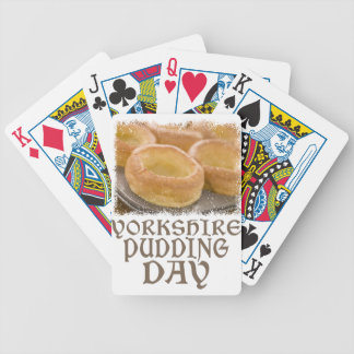 Yorkshire Pudding Day - Appreciation Day Bicycle Playing Cards
