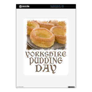 Yorkshire Pudding Day - Appreciation Day iPad Skin