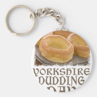 Yorkshire Pudding Day - Appreciation Day Keychain