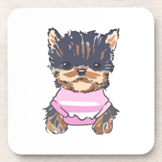 YORKSHIRE PUPPY DRINK COASTERS