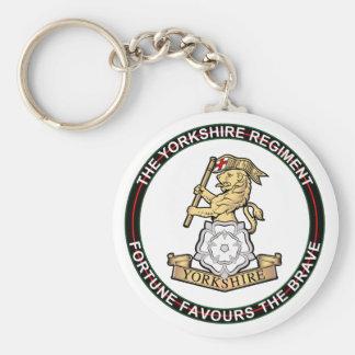 Yorkshire Regiment Keychains