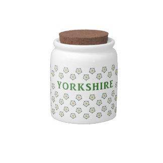 Yorkshire Roses Candy Jar