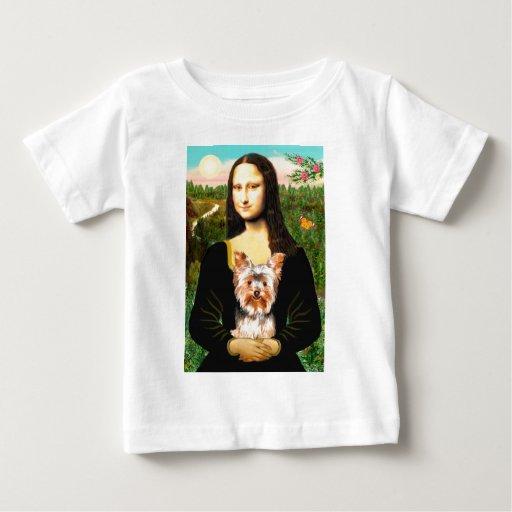 Yorkshire Terrier 17 - Mona Lisa Baby T-Shirt