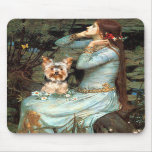 Yorkshire Terrier 17 - Ophelia Seated Mouse Pads