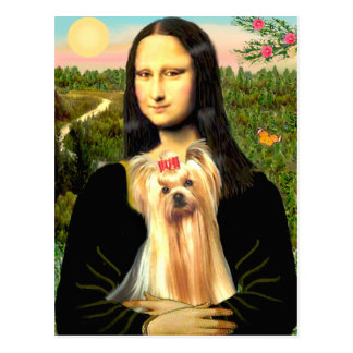 Yorkshire Terrier 1 - Mona Lisa Postcard