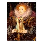 Yorkshire Terrier 1 - Queen Post Cards