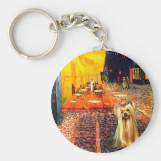 Yorkshire Terrier 1 - Terrace Cafe Keychain