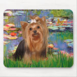 Yorkshire Terrier 7 - Lilies 2 Mouse Pad