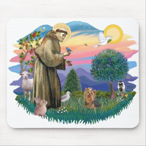 Yorkshire Terrier (#7) Mouse Pad