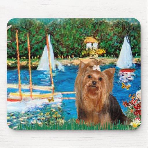 Yorkshire Terrier 7 - veleros Alfombrillas De Ratón
