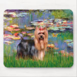 Yorkshire Terrier 9 - Lilies 2 Mouse Pad