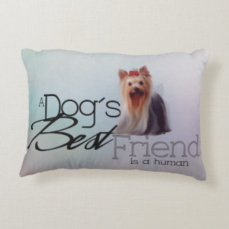 Yorkshire Terrier Accent Pillow
