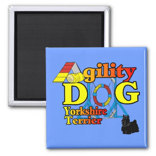 Yorkshire_Terrier Agility Gifts Magnet