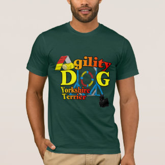 Yorkshire_Terrier Agility Gifts T-Shirt