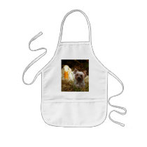 Yorkshire Terrier Apron With Duck