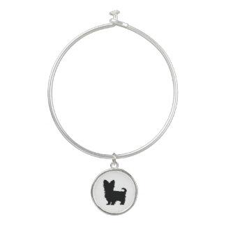 """""""Yorkshire Terrier"""" Bangle Charm Bracelet"""