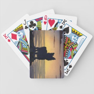 Yorkshire Terrier Bicycle Playing Cards