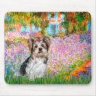 Yorkshire Terrier (Biewer) - Garden Mouse Pad