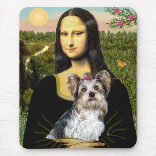 Yorkshire Terrier (Biewer) - Mona Lisa Tapetes De Ratón
