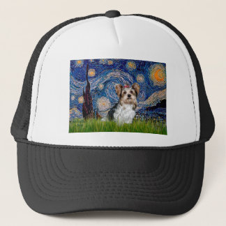 Yorkshire Terrier (Biewer) - Starry Night Trucker Hat