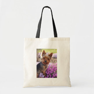 Yorkshire Terrier Bolsas Lienzo