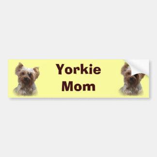 Yorkshire Terrier Bumper Sticker Car Bumper Sticker