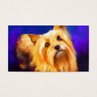 Yorkshire Terrier Business Cards