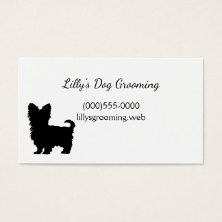 """Yorkshire Terrier"" Business Cards"