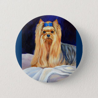 Yorkshire Terrier Button pin