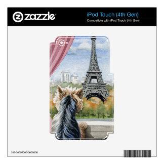 Yorkshire Terrier Calcomanía Para iPod Touch 4G