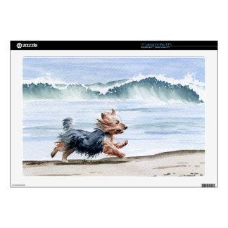 Yorkshire Terrier Calcomanías Para 43,2cm Portátiles