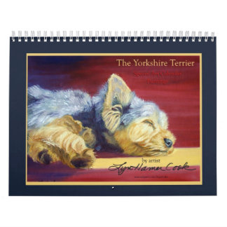 Yorkshire Terrier Wall Calendars