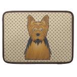 Yorkshire Terrier Cartoon MacBook Pro Sleeve