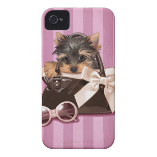 Yorkshire Terrier Case-Mate iPhone 4 Protectores