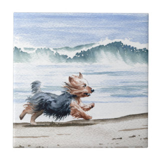 Yorkshire Terrier Ceramic Tile