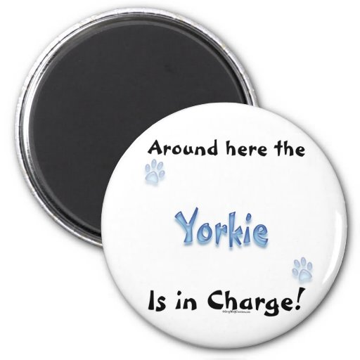 Yorkshire Terrier Charge Magnet