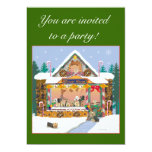Yorkshire Terrier Christmas Treat Shop Invites