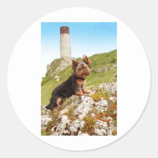 Yorkshire Terrier Classic Round Sticker