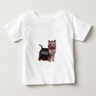 Yorkshire Terrier - colocándose Playera Para Bebé