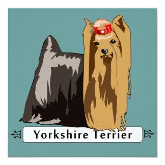 Yorkshire Terrier con nombre de la raza Anuncio