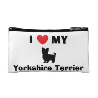 """Yorkshire Terrier"" Cosmetic Bag"