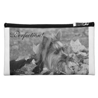 "Yorkshire Terrier Cosmetic Bag- ""Perfection"" Cosmetic Bag"
