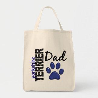Yorkshire Terrier Dad 2 Canvas Bag