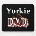 Yorkshire Terrier Dad Gifts Mouse Pad