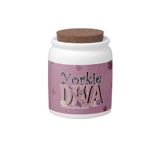 Yorkshire Terrier DIVA Candy Dish