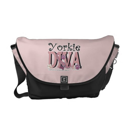 Yorkshire Terrier DIVA Courier Bags