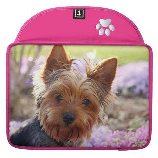 Yorkshire Terrier dog beautiful macbook air sleeve Sleeve For MacBooks